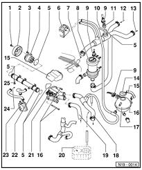 vwvortex com coolant flow diagram here you go from the b4 bentley manual note the tiny arrows