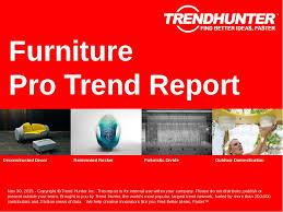 furniture trend. furniture trend report research
