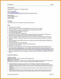 5 Cv Format For Job In Ms Word Free Download Hvac Resumed