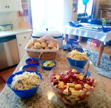Having the perfect snack food to share with your guests at your backyard picnics or bbqs is essential for a good party. Graduation Party Menu And Tips Lisa S Dinnertime Dish