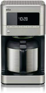 Looking to purchase the best thermal coffee maker for your home or office? Amazon Com Braun Kf7175 Braun Sense Thermal Drip Coffee Maker Stainless Steel 7 9 X 7 9 X 14 2 Inches Count Of 2 Kitchen Dining