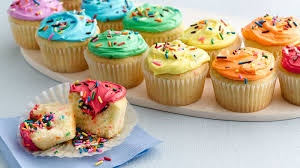 colorful cupcakes. Beautiful Cupcakes Double Rainbow Cupcakes Intended Colorful L