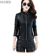 2019 oaired plus size leather jacket women new fashion 2017 small leather clothing female short slim coat women outerwear red from maoyili 55 18 dhgate