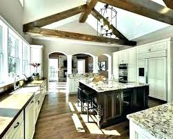 vaulted ceiling wood beams. Simple Ceiling Wood Ceiling Ideas Beams In White Kitchen Vaulted  Ceilings With Cheap N