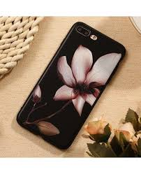 <b>3D Relief Flower Luxury</b> Tpu Silicone Rubber Soft iPhone 7 Plus Case