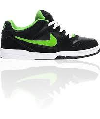 nike 6 0 skate shoes. nike 6.0 oncore black, white, \u0026 green apple shoes 6 0 skate