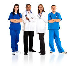 Image result for healthcare workers in uniforms
