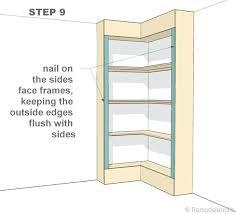 Building Corner Shelves Making Corner Shelves Wondrous Ideas How To Build Corner Shelves 43