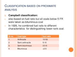 Coal Classification