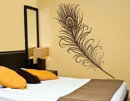 bedroom wall design. Simple Design Decorate With Wall Decal Bedroom Wall Design  Creative Decorating Ideas And Design A