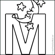 Printable M Cute Alphabet Letters Printable Inspirational