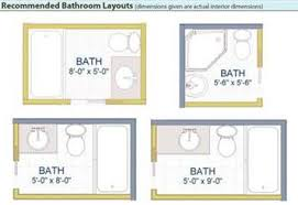 image result for small bathroom layout 5 x 7