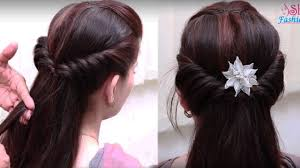Hair Style Girl easy hair style for long hair ladies hair style videos 2017 2303 by wearticles.com