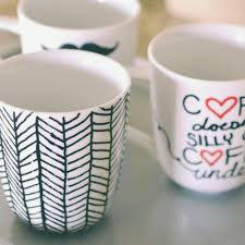 Sharpie Cup Designs Easy Diy Sharpie Mugs Sharpie Mug Project Diy Mugs