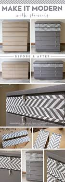 image stencils furniture painting. Cutting Edge Stencils Shares A Painted And Stenciled Dresser Using The Herringbone Craft Stencil. Http Image Furniture Painting