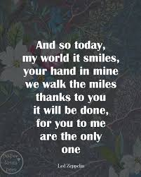 Led Zeppelin Quotes Magnificent Best Led Zeppelin Love Quotes With Zeppelin Final Bros For Make