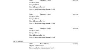 Resume Free Resume Builder And Free Download Resume Maker Free