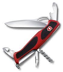 Нож <b>Victorinox RangerGrip 61</b> (арт. 0.9553.MC, 130мм 11 функций ...