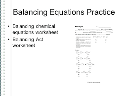 chemistry practice problems balancing chemical equations get help worksheet with answers equatio