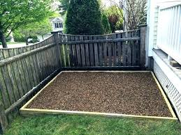 outdoor dog potty area for patio winter
