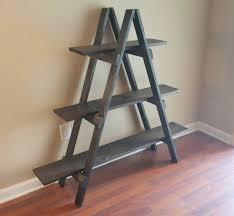 Wooden Ladder Display Stand Ladder Shelf 100 ft Wooden Ladder Craft Fair Display Craft Show 19