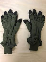intermediate cold weather flyers glove genuine us army cold weather flyers gloves hau 15 p size 10 large