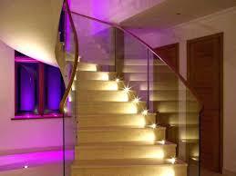 modern stairwell lighting. Basement Stair Lighting Ideas Contemporary Stairwell Modern P