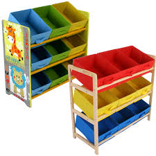 Soothing Kids Storage Baskets Childrens Toy Storage Unit Kids Shelf Tier  Canvas Drawer in Toy Storage