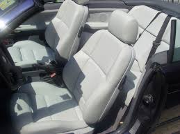 details about bmw 3 series e36 convertible leather seat covers genuine bmw montana leather