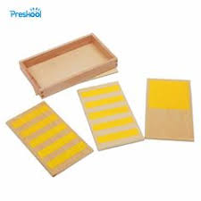 Baby <b>Toy Montessori</b> Wood <b>Color</b> Tablet 3rd Box Early Childhood ...