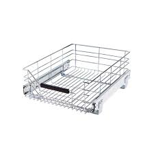 Seville Classics 14 In W X 1775 In D Pull Out Sliding Steel Wire