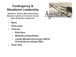 contingency situational leadership news term paper theories path  1 contingency situational leadership news term paper