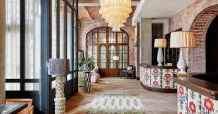 Vintage italian barcelona style dining Origami Shelves Yhomeco How Soho House Barcelona Became The Citys Hippest Hotel