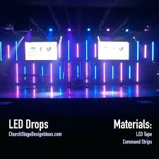 church led stage lighting packages chauvet portable kit scenic sets design ideas churches globe