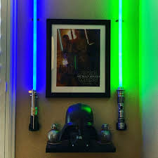 best wall mount for a single lightsaber