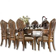 wooden designer handmade dining set by aarsun