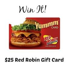 Image result for $25 red robin gift card