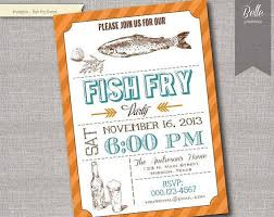 Fish Fry Invitation Template All New Resume Examples