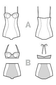 Bikini Sewing Pattern