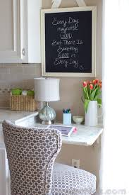 kitchen office pinterest desks. making the most of your space our new kitchen builtin desk office pinterest desks i