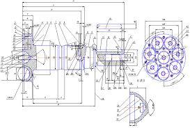 Российский Банк Рефератов Дипломная работа Технологический  Рис 1 1 Схема кодирования поверхностей и размеров детали