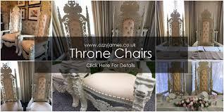 throne chair hire
