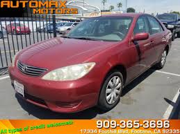 Used 2006 Toyota Camry LE in Fontana