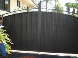 Aluminum Privacy Fence Aluminum Privacy Fence F Nongzico