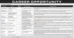 Power Plant Mechanical Engineer Resumes Power Plant Jobs In Pakistan 2015 August At Muzaffargarh 120