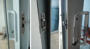 broken sliding glass door images