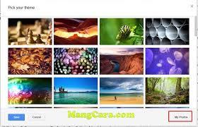 cara membuat background tema gmail n dengan foto sendiri