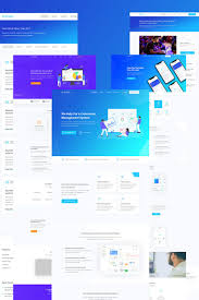 Tech Startup Web Design Bluebell Software Web App And Startup Tech Company