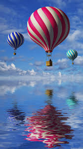 3d wallpapers for mobile for touch screen free download. Contemporary Free Color Baloons Wallpaper HD For Mobile 3d Balloons In The Blue Sky And  Reflection Water In Wallpapers Mobile Touch Screen Free Download 0
