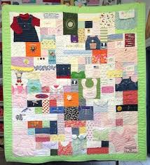 Quilts Made from Baby Clothing & Complex baby clothes quilt Adamdwight.com